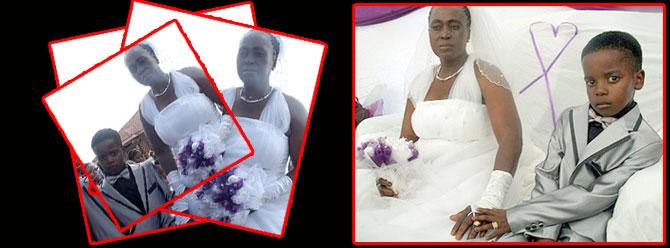 8 yaşındaki damat evliliğini anlattı
