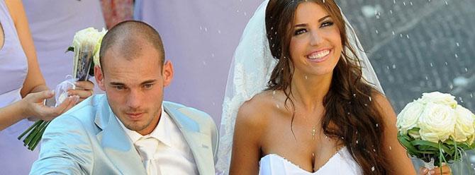 Sneijder Türkiye üzerindeyken evlenme teklif etti