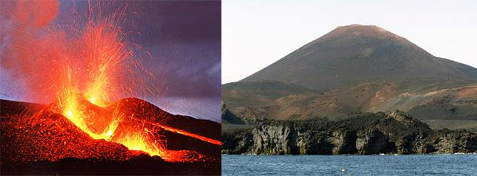 Hekla volkanı harekete geçti