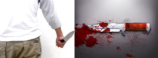 Çocuğu boğazını keserek öldürdü