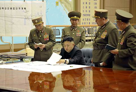Kuzey Kore ABDyi vurmaya hazır!