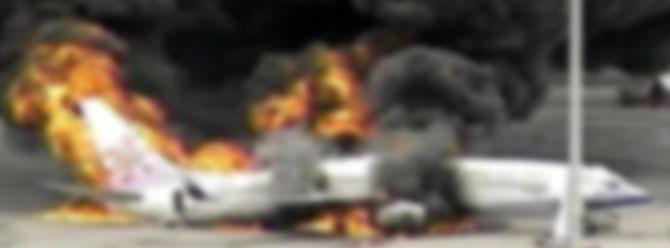 Çinde savaş uçağı düştü: 2 ölü