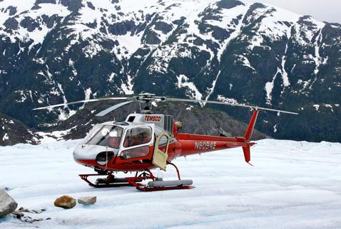 Alaskada helikopter düştü: 3 ölü