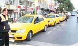 Takside Akbil kavgası