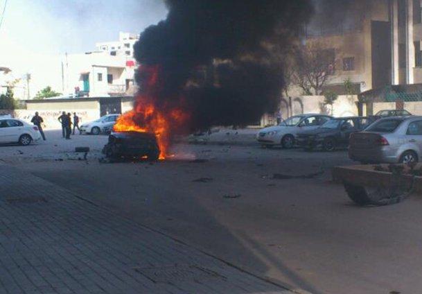 Suriyede bomba yüklü araç patladı