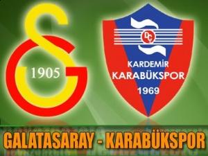 Galatasaray - Karabükspor Maçı İzle