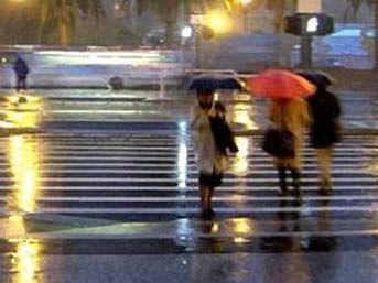 İstanbulda şimşek fırtınası