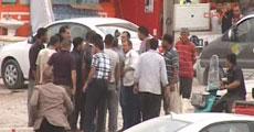 Polise saldıran sürücüyü vatandaşlar linç edecekti