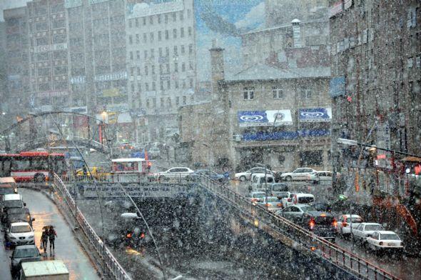 Mayısta Kar Yağdı