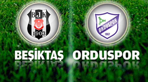 Beşiktaş – Orduspor Maçı Canlı İzle