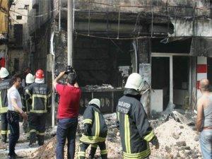 Gaziantepte doğalgaz patlaması: 2 yaralı