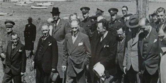Atatürkün Fenerbahçeyi ziyareti