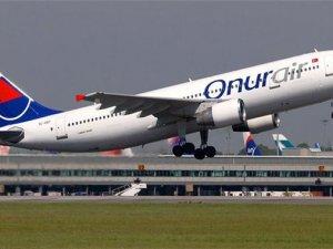 Onur Air uçağında bomba paniği
