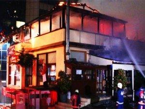 Şişlide restoranda yangın çıktı