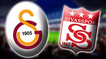Galatasaray - Sivasspor maçını internetten canlı izle