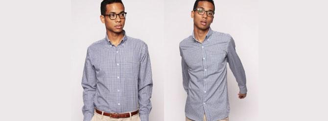 Kirlenmeyen bir gömleğe ne dersiniz?