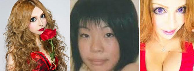 Japon manken 30 farklı estetik ameliyat geçirdi