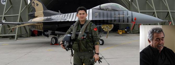 Osmaniyede  F-16/C kazası