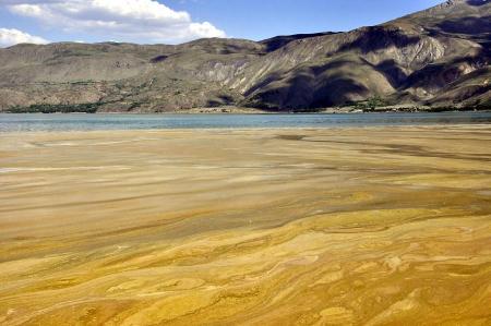 Hazar Gölü tatilcileri korkutuyor