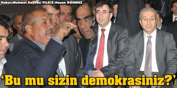 Bu mu sizin demokrasiniz