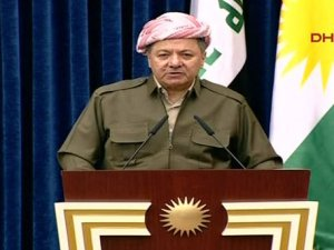 Barzani: Girdiğimiz yerden geri çekilmeyeceğiz