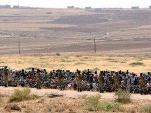 IŞİD sınıra dayandı