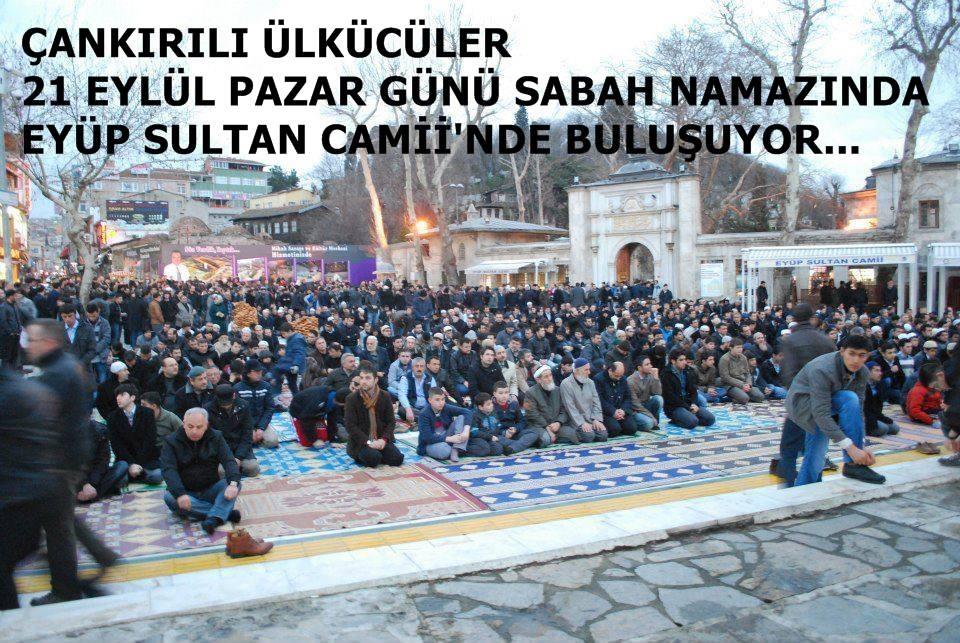 Çankırılı Ülkücüler İstanbulda Buluşuyor.