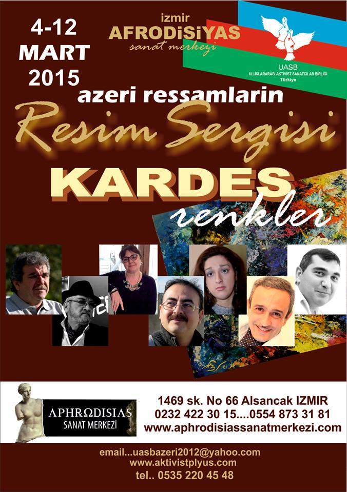 Yedi Azeri ressamın 'Kardeş Renkler Resim Sergisi'