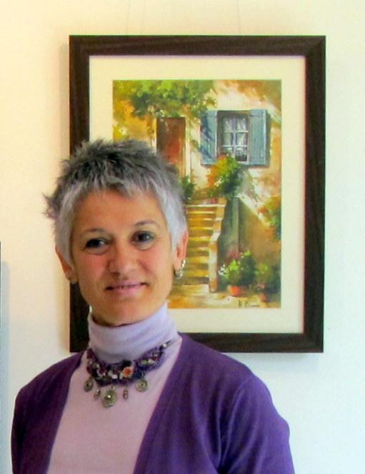 Ressam Berrin Dumanın eserleri İzmirde görücüye çıktı.