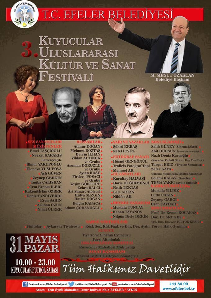 3.Kuyucular Kültür ve Sanat Festivali