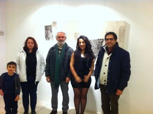 Yalda Jafari Yaginin ikinci sergi heyecanı