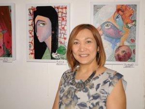 Ressam Olga Erenden Dekoratif portreler