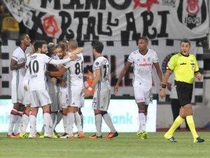Beşiktaş ilk kez deplasmanda mağlup etti