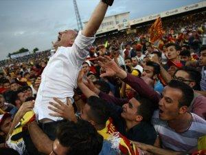 Malatyasporda Süper Lig sevinci