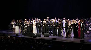 Zülfü Livaneli sanat hayatının 50'nci yılını kutladı