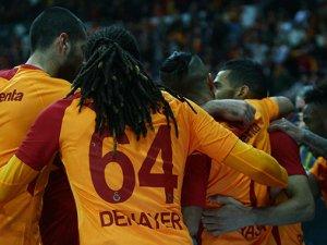 Gergin maçta kazanan Galatasaray