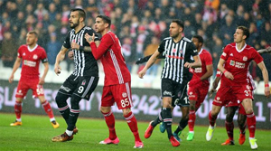 Demir Grup Sivasspor: 2 - Beşiktaş: 1