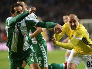 Atiker Konyaspor: 1 - Fenerbahçe: 1