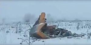 Son dakika gelişmesi… Yolcu uçağı Moskova'ya düştü