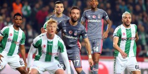 Atiker Konyaspor: 1 - Beşiktaş: 1