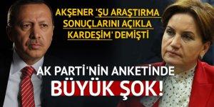 AK Parti'nin anketinden Akşener sürprizi!