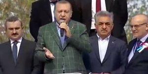 Erdoğan'ın konuştuğu Beykoz mitinginde 'yuh' sesleri: 'Böyle başkan istemiyoruz'