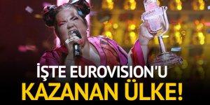 Eurovision 2018'in kazananı İsrail oldu