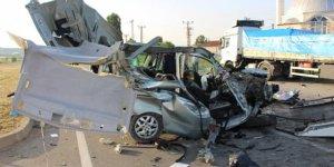 Amasya'da feci kaza: 3 ölü