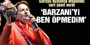 Akşener: Barzani'yi ben öpmedim