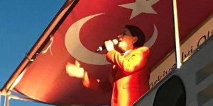 Üsküdar Belediyesi Meral Akşener'in konuşması sırasında elektrikleri kesti