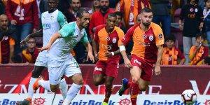 Galatasaray: 1 - Bursaspor: 1