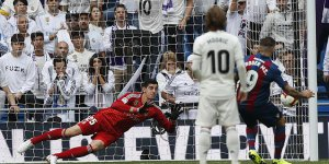 Real Madrid: 1 - Levante: 2