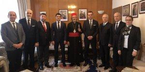 İYİ Parti İstanbul İl Başkanlığı İnançlar Komisyonu, ziyaretlerine devam ediyor.
