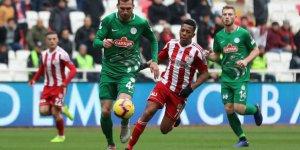 Demir Grup Sivasspor: 1 - Çaykur Rizespor: 1